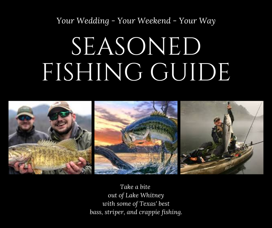 Guided Fishing tour flyer