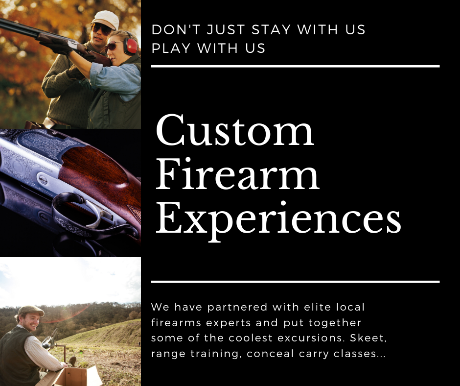 firearm experiences flyer